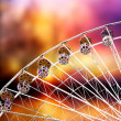 Ferris Wheel At Sunset - Stock Photo