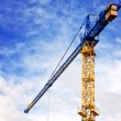 Stock Photo: Construction crane