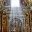 Interior of a basilica of St Peter — Stock Photo