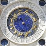 Zodiac clock at San Marco square in Venice — Stock Photo