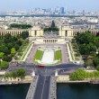 Paris from Eiffel Tower — Stock Photo #23929683
