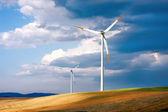 глобальные ветровой энергии — Стоковое фото