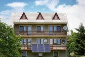 Residential solar panels — Stock Photo