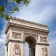 Arch of Triumph Paris — Stock Photo #27783425