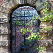 Stock Photo: Old english garden gate