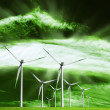 Alternative ecological source of energy — Stock Photo