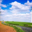 Stock Photo: Wind farm