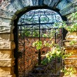 Stock Photo: Garden gate