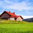 New house in the mountains — Stock Photo #28638407