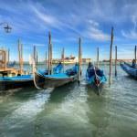 modré Benátky — Stock fotografie