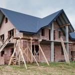 House under construction — Stock Photo