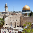 Stock Photo: The wailing wall of Jerusalem