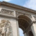 Arch of Triumph in Paris — Stock Photo