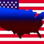 US Map — Stock Photo
