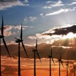 Stock Photo: Wind power energy