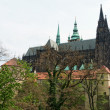 St. Vitus Cathedral in Prague — Stock Photo #3314323