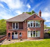 Uma típica casa de inglês — Foto Stock
