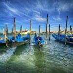 Godolas in Venice — Stock Photo