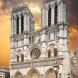 Stock Photo: Notre Dame Cathedral in Paris