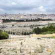 Jerusalem panorama — Stock Photo