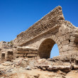 aqueduct of caesarea — Stock Photo