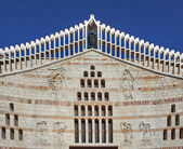 The Basilica of the Annunciation in Nazareth — Stock Photo