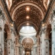 Interior of Basilica — Stock Photo #38025887