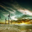 Foto de Stock  : Wind farm