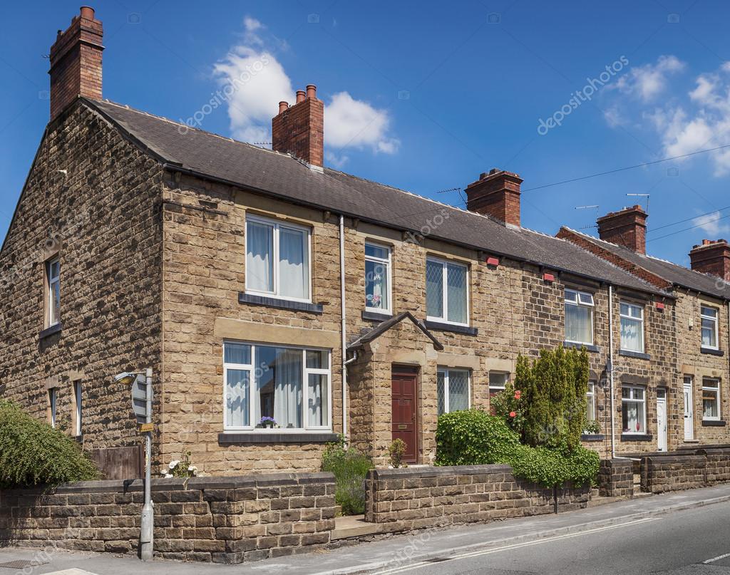 Tipica casa inglese foto stock 40606479 for Case inglesi foto