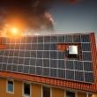 Experimental solar power — Stock Photo