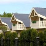 Street suburban homes — Stock Photo #46433609