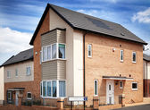 New English Residential Estate — Foto Stock