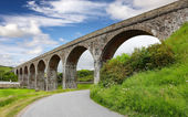 Railway Viaduct in Cullen Scotland — 图库照片