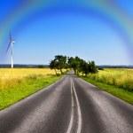 Rainbow Road — Stock Photo #6383595