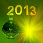 Christmas ball 2013 — Stock Photo