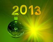 Bola de natal 2013 — Foto Stock