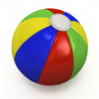 Stock Photo: Beach ball.