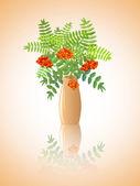 Branches de rowan — Vecteur