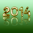 New Year 2014 — Foto Stock