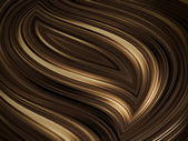Chocolate waves — Stock Photo