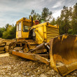 Stock Photo: Digger
