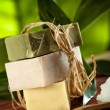 View of spa theme object on color background — Stock Photo #14615341