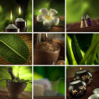 Stock Photo: Sptheme collage composed of few images