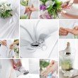 Wedding collage — Stock Photo #15711153