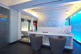 Panoramic view of nice modern interior — ストック写真