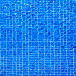 View of nice blue swimming pool water surface — Foto Stock