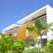 View of nice modern villa in tropic environment — Stock Photo #26009847