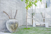Fragment like view of nice summer house patio — Photo