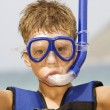 Royalty-Free Stock Photo: Snorkeler