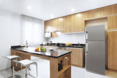 View of nice kitchen interior — Stock Photo